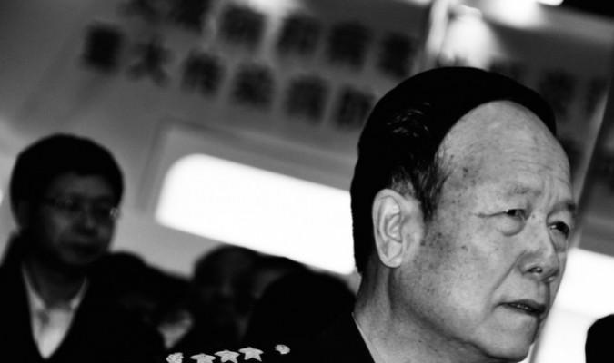 Thượng tướng Quách Bà Hùng, Phó Chủ tịch Quân ủy Trung ương Trung Quốc. Theo Apple Daily, ông Quách đã bị bắt giữ để điều tra với tội danh tham nhũng. (Ảnh lưu trữ của Đại Kỷ Nguyên)