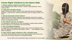 Những vi phạm nhân quyền của nhóm Nhà nước Hồi giáo