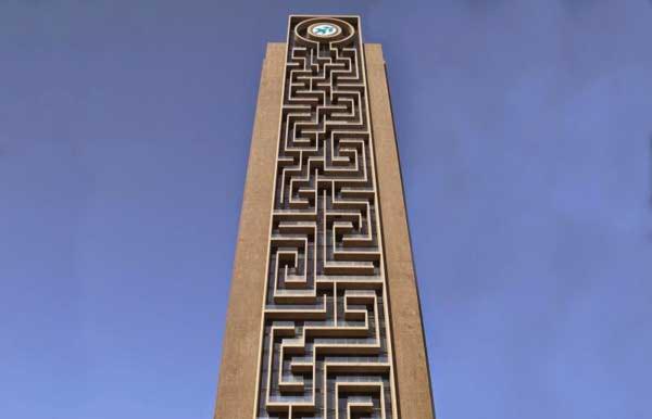 Maze Tower - Kỷ lục tòa nhà mê cung dọc lớn nhất thế giới