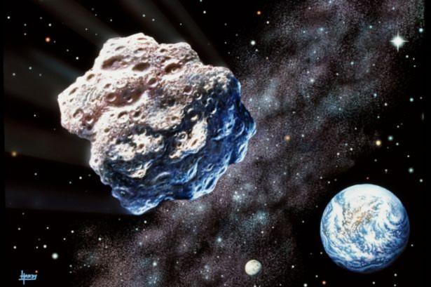 Một thiên thạch khổng lồ đang lao về Trái đất
