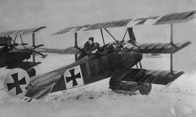 UFO, Thế chiến I, Red Baron, phi công Đức,