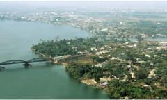 Sông Đồng Nai và cù lao Phố thuộc thành phố Biên Hòa. (Ảnh: motthegioi)