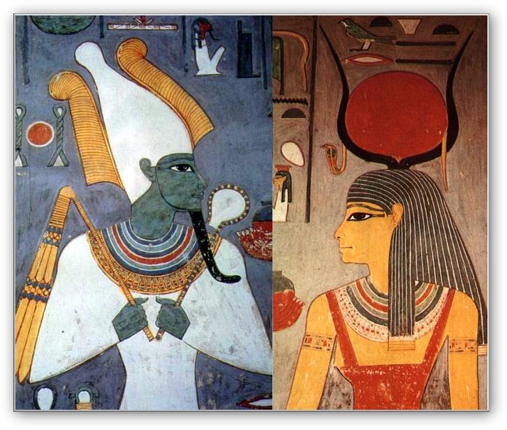 Osirisva Isis