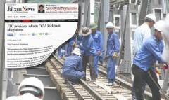 Báo chí Nhật nói về vụ tiền hối lộ cho dự án đường sắt ở Việt Nam