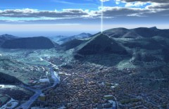 Kim tự tháp Bosnia. (Ảnh: Ancient Code)