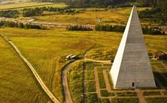 Kim tự tháp Golod tại Nga (Ảnh: earth-chronicles.ru)