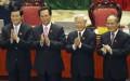 Tứ trụ triều đình: Chủ tịch Nước, Thủ tướng, TBT, Chủ tịch QH nước CHXHCN Việt Nam. Ảnh internet