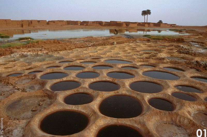 """Cánh đồng muối đất sét """"độc nhất vô nhị"""" ở sa mạc Sahara - 3"""