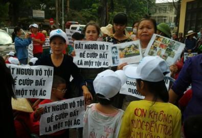 Dân oan khắp nơi ở Việt Nam