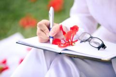 lưu bút hoa phuong