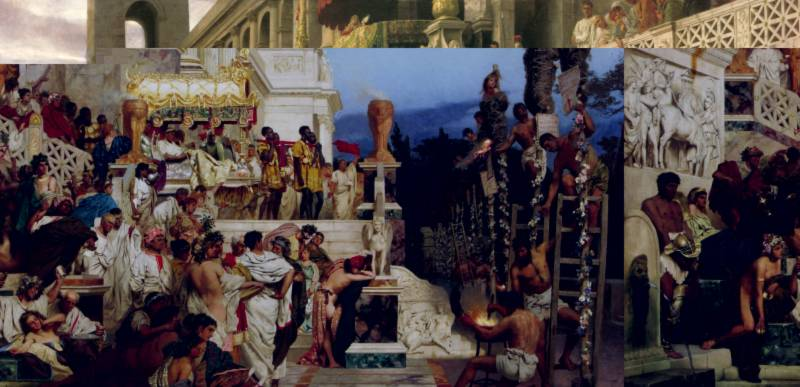 đại dịch, La Mã, bức hại thánh đồ, Bài chọn lọc,