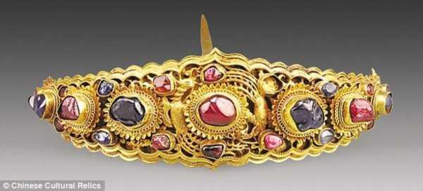 Phát hiện ngôi mộ chứa đầy vàng ròng ở Trung Quốc