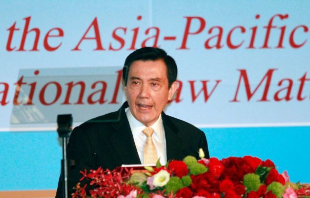 Tổng Thống Đài Loan Mã Anh Cửu hôm 26/05 đã đề xuất kế hoạch hòa bình cho khu vực biển Đông. (Ảnh: AP)