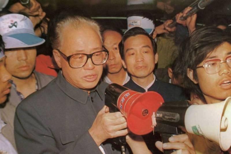 tuyet thuc, Thiên an môn, 1989,