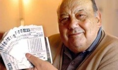 Frane Selak, 86 tuổi, người đàn ông may mắn nhất hành tinh (Ảnh: Youtube)