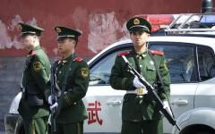 Công an Trung Quốc trực gác ở Bắc Kinh (Ảnh: pixabay)