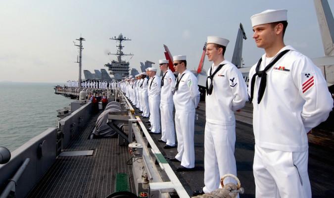Ảnh minh họa. Lực lượng hải quân Mỹ. (Nguồn: Wiki)