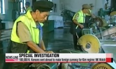Ảnh minh họa. Những người xuất khẩu lao động Bắc Triều Tiên làm việc tại nước ngoài. (Nguồn: YouTube)