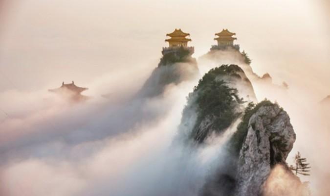 Núi Lão Quân Sơn, nơi an nghỉ của Lão Tử (Ảnh: Internet)
