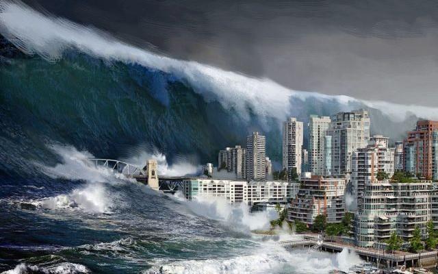 Siêu động đất, hay còn gọi là Mega-quake, khi xảy ra sẽ tạo thành một cơn sóng thần vô cùng lớn có thể quét sạch một vùng rộng lớn dọc theo bờ biển tây bắc Thái Bình Dương, chạy dài từ Vancouver của Canada, qua tiểu bang Washington của Mỹ, rồi dọc theo bờ biển xuống đến San Francisco và các vùng phụ cận. (Ảnh Youtube)