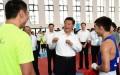 Ông Tập Cận Bình xuất hiện ở Nam Kinh và gặp gỡ đội tuyển Trung Quốc tham gia Thế vận hội hôm 15/8. (Ảnh: news.cn)