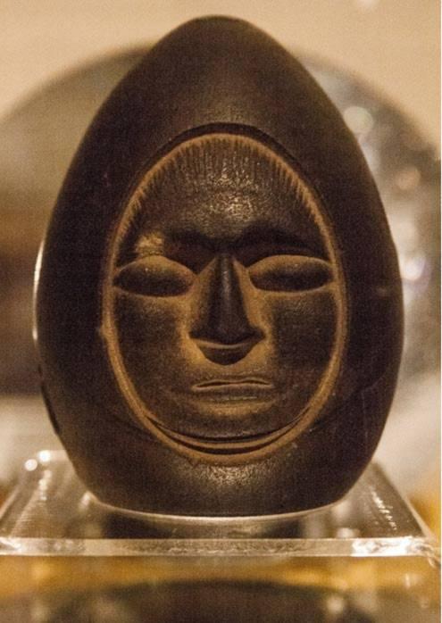 trứng đá, khuon mat, khảo cổ, hòn đá bí ẩn, Châu Mỹ, Bài chọn lọc,