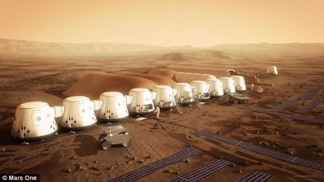 Những ngôi nhà tương lai trên sao Hỏa - 1