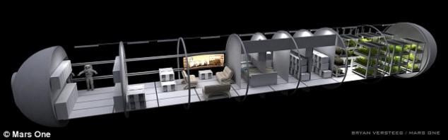 Những ngôi nhà tương lai trên sao Hỏa - 2