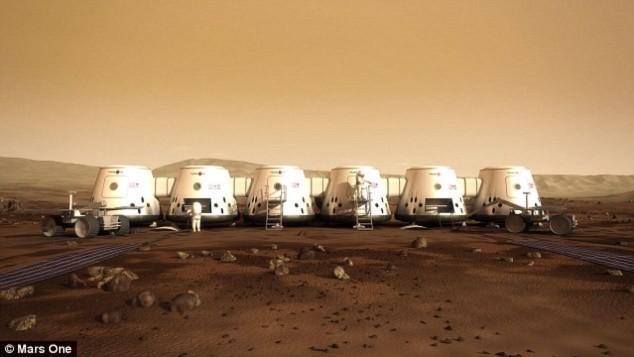Những ngôi nhà tương lai trên sao Hỏa - 5