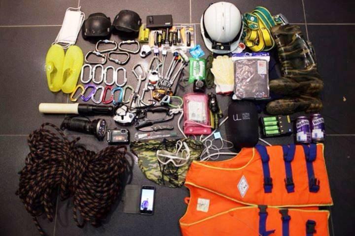Một số thiết bị chuyên dụng để thám hiểm hang động trong lòng đất