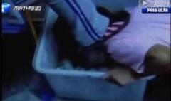 Vừa qua, đoạn video chia sẻ trên mạng về cảnh bạo lực học đường tại một trường Trung học ở thị trấn Tiêu Tác đã khiến nhiều người phẫn nộ. Trong đoạn video, một nữ sinh bị một nữ sinh khác to tiếng chửi rủa và bắt quỳ xuống trước một đống rác, nữ sinh kia dùng chân đá liên tục và ép nữ sinh này dùng miệng ngậm que kẹo trong đống rác. (Ảnh: internet)