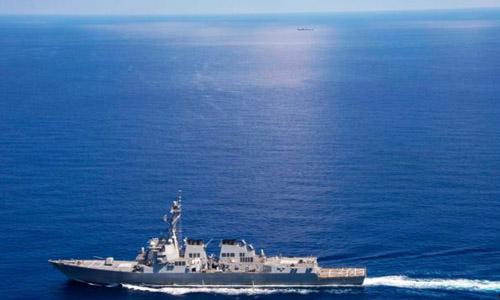 Mỹ cho biết sẽ tiếp tục các hoạt động tuần tra ở Biển Đông. Ảnh: US Navy