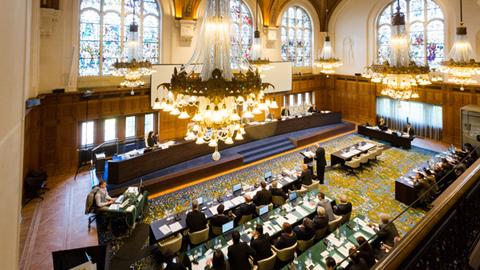Tòa án quốc tế tại The Hague, Hà Lan. (Ảnh: Rappler)