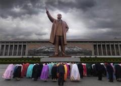 Ảnh minh họa. Tượng chủ tịch Kim Il-sung. (Ảnh: Facebook)