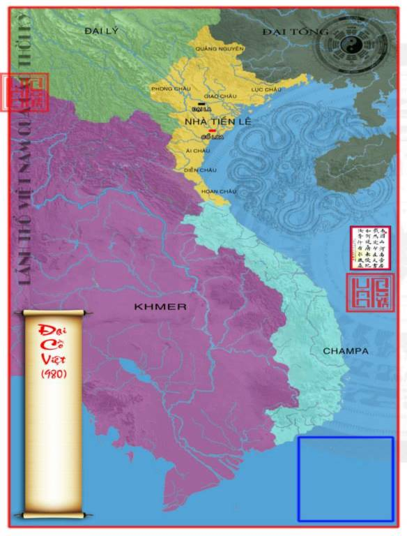 45 tấm bản đồ Việt Nam qua các giai đoạn từ thế kỷ 10