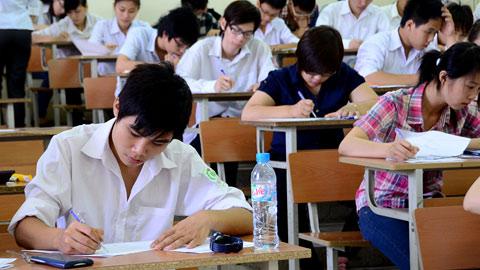 Kết quả hình ảnh cho học sinh làm bài thi