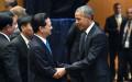 Thủ tướng Nguyễn Tấn Dũng, trái, gặp Tổng thống Mỹ Barack Obama. Ảnh: Chinhphu.vn