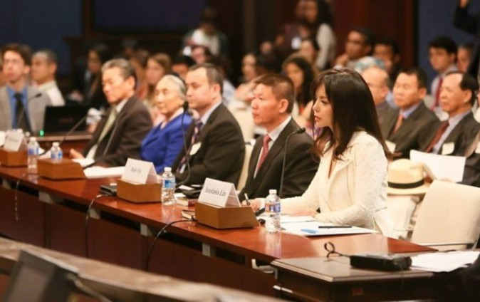 Visa, Trung Quốc, ngăn cản thị thực, Hoa hậu Thế giới Canada, hoa hậu thế giới, Anastasia Lin,