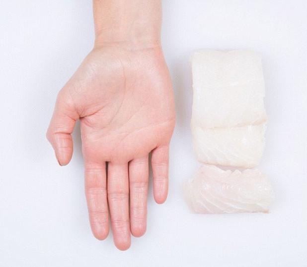 Mẹo ước lượng khẩu phần ăn giảm cân bằng bàn tay