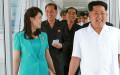 vợ chồng Kim Jong-un