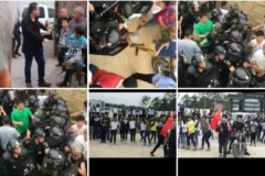 Ngày 15 tháng 12, hàng ngàn người dân ở thị trấn Vân Lạc tỉnh Quảng Đông đã diễu hành thị uy, phản đối động thổ dự án xây dựng nhà máy đốt rác thải quy mô lớn, cuối cùng tập trung tại công trường xây dựng và phá hủy một số thiết bị. (Ảnh: Internet)