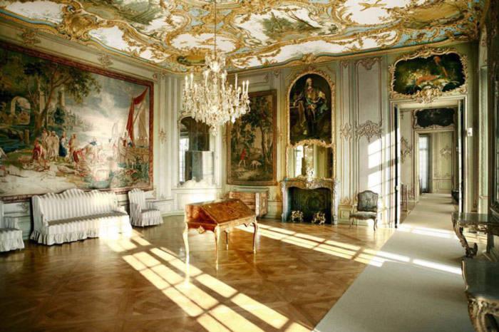 Sự trang trí mang đặc trưng của Rococo Đức