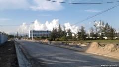 Một con đường tại Quận Ngũ Hành Sơn. Bí thư Quận ủy quận Ngũ Hành Sơn cho biết đã phát hiện 71 cá nhân là người Việt đứng tên mua 137 lô đất trên địa bàn quận này cho người Trung Quốc.