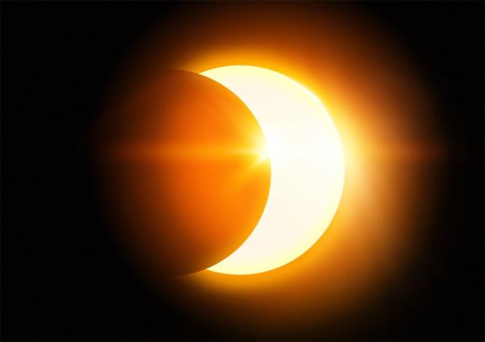 Đây là hiện tượng nhật thực toàn phần diễn ra tại Indonesia và một số khu vực thuộc Thái Bình Dương.