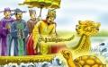 """Vua Lê Lợi và truyền thuyết """"Trả Gươm"""". (Ảnh: SGK)"""