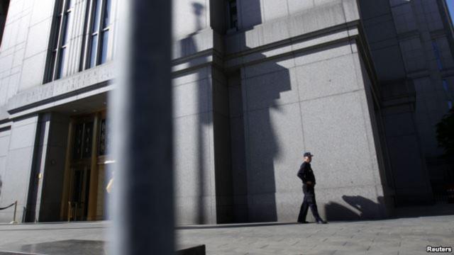 Tòa án liên bang ở Manhattan.