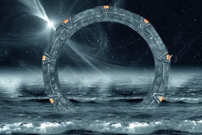 Cánh cổng trời trong các bộ phim khoa học viễn tưởng.