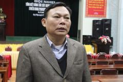 Ông Trương Văn An, Bí thư Đảng ủy xã Hạ Sơn. Ảnh: Hải Bình - vnexpress