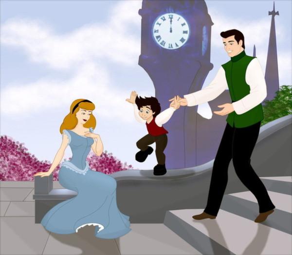 Câu chuyện gia đình hạnh phúc tiếp nối những cái kết có hậu của Disney - Ảnh 8.