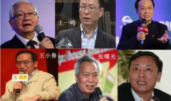 Các chuyên gia kinh tế như ông Ngô Kính Liễn, Vương Tiểu Lỗ, Vương Nhất Minh… cảnh báo nguy cơ có tính hệ thống của nền kinh tế Trung Quốc. (Ảnh: Secretchina)
